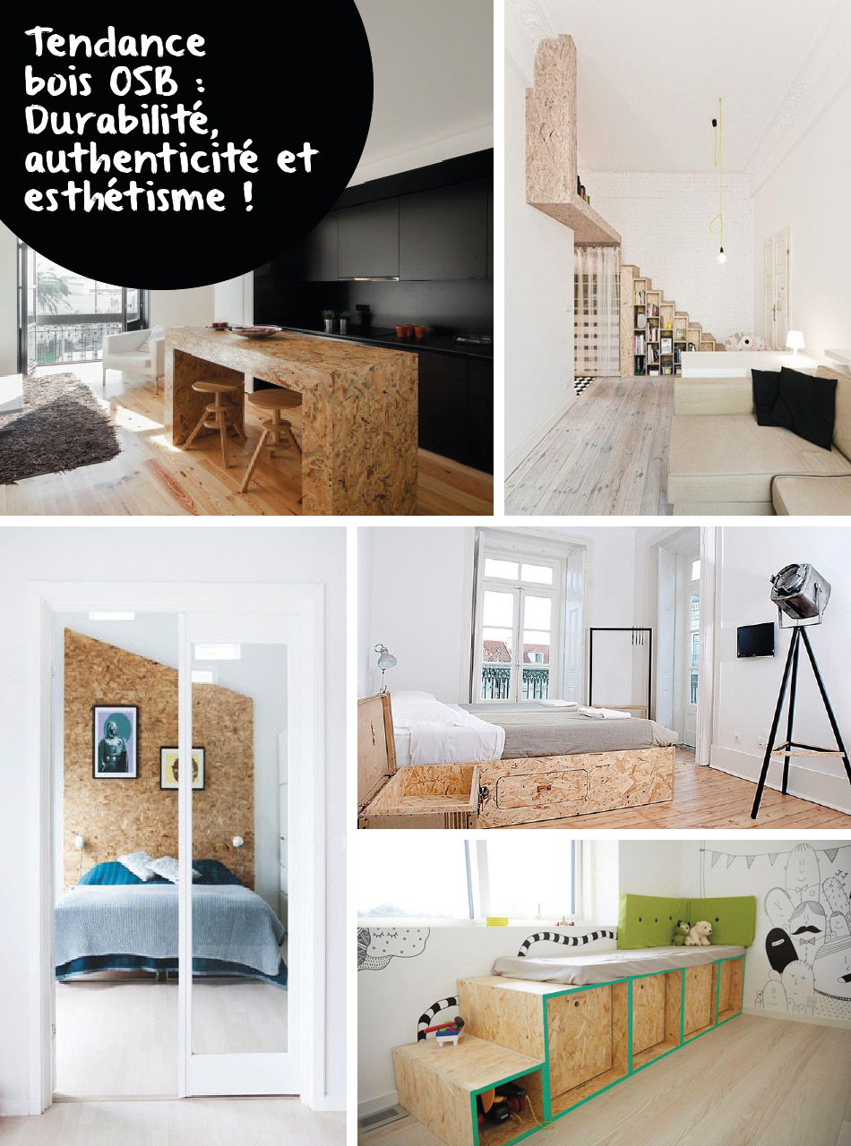 le panneau bois osb une tendance retenir pour la d co. Black Bedroom Furniture Sets. Home Design Ideas