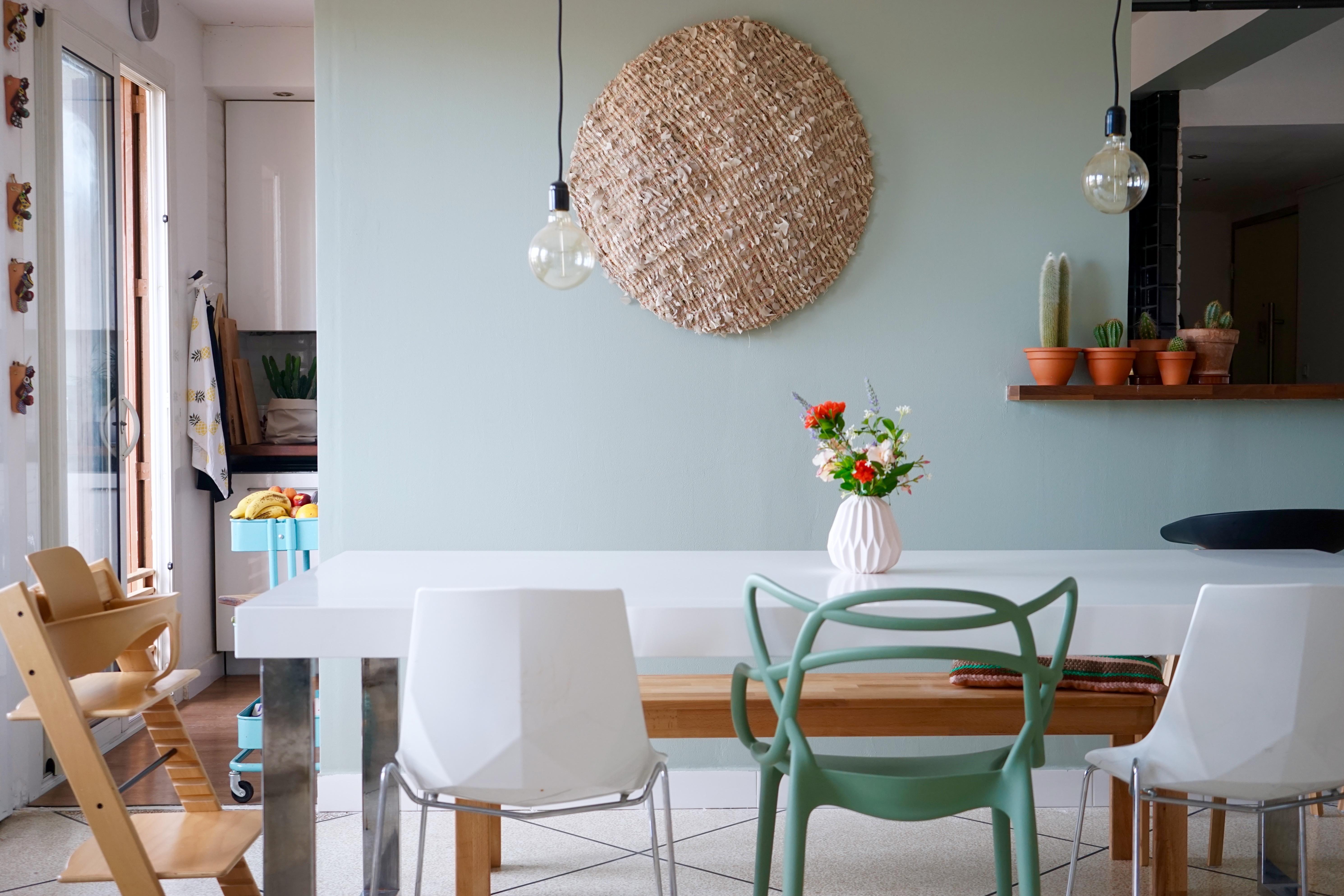 Association Couleur Peinture Salon Salle À Manger avant-après : mon mur et mon séjour changent de couleur