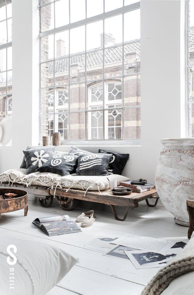 id e d co du jour peindre le sol en blanc decouvrirdesign. Black Bedroom Furniture Sets. Home Design Ideas