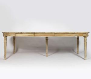 zoom sur les tables en bois