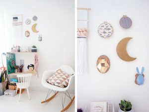 un troph e mural d co pour la chambre des enfants decouvrirdesign. Black Bedroom Furniture Sets. Home Design Ideas