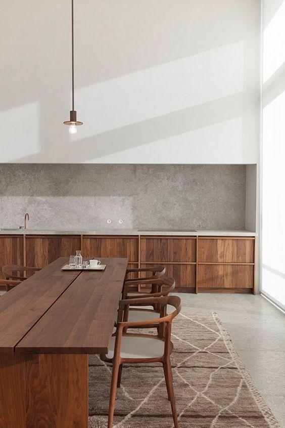 la tendance d co est la cuisine au naturel decouvrirdesign. Black Bedroom Furniture Sets. Home Design Ideas